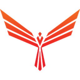 Red Pulse Phoenix logo